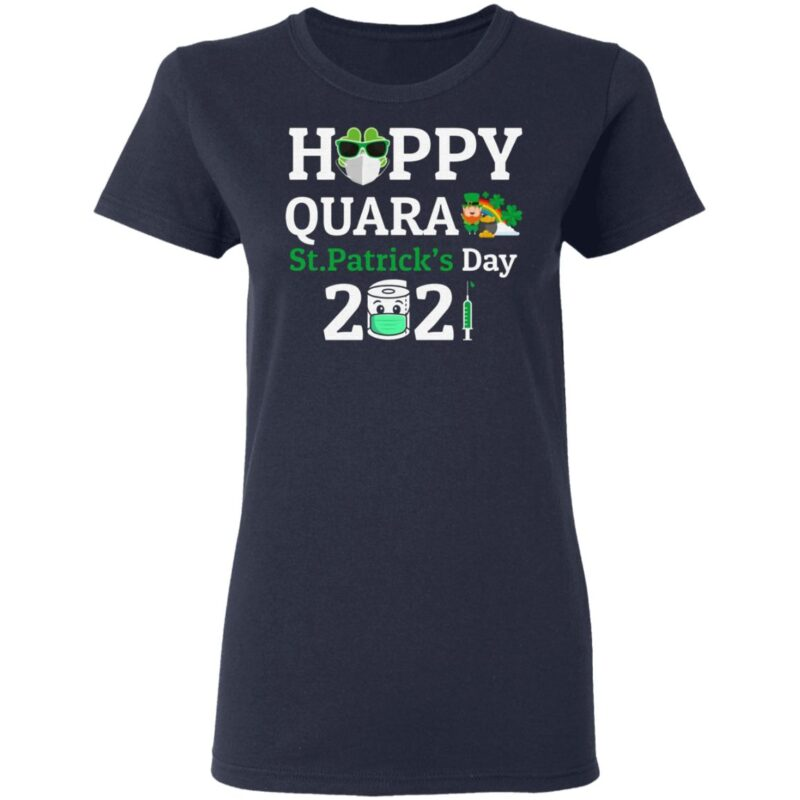 Happy Quarantined St Patrick Day T-Shirt