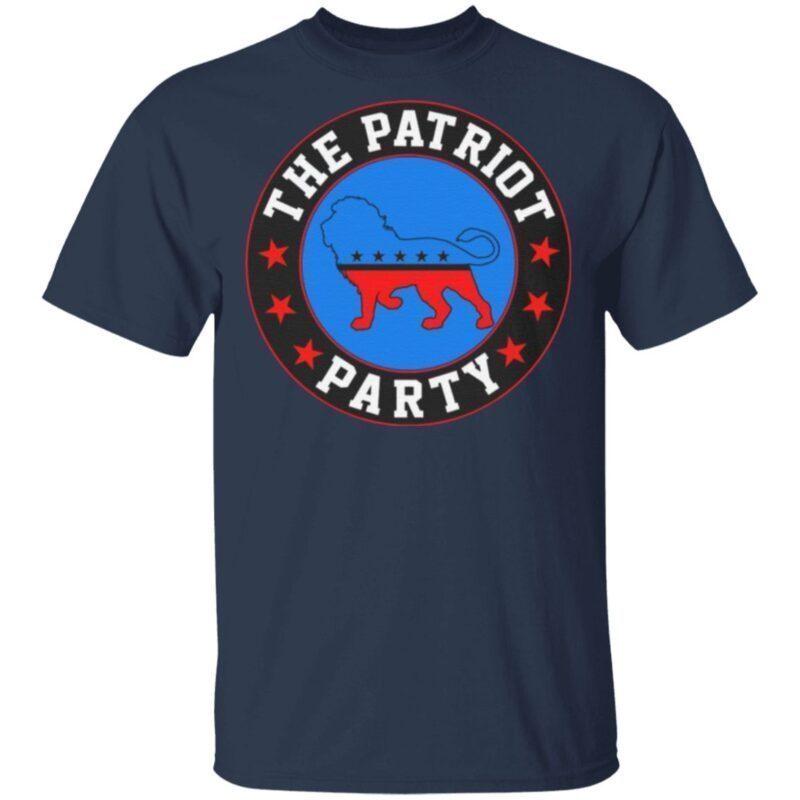 The Patriot Party Lion America Pro Trump T-shirt