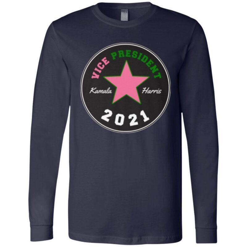 Kamala Harris Chuck And Pearls Mr Vice President 2021 T-shirt