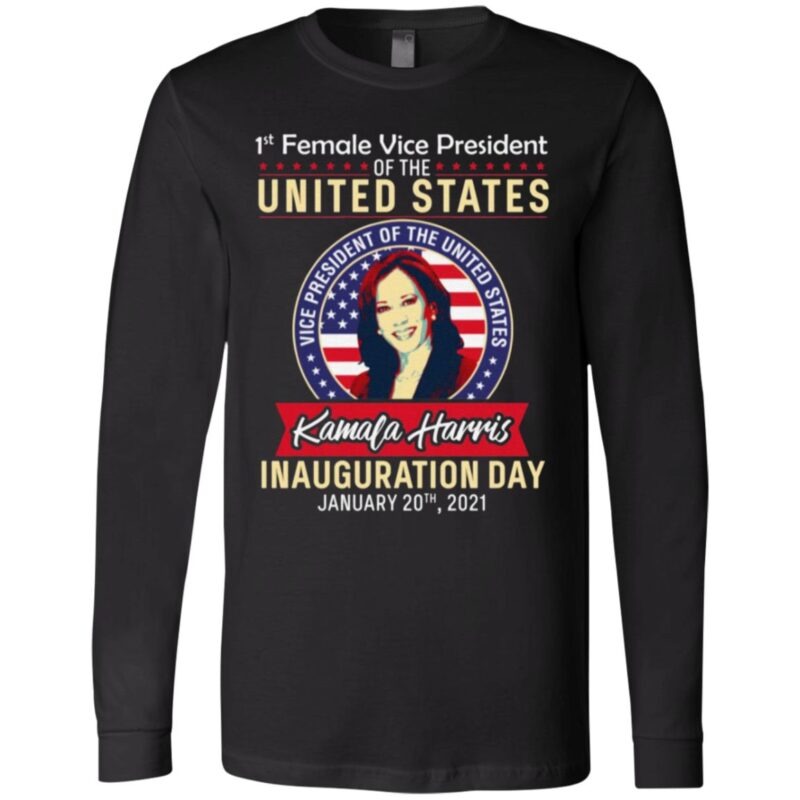 Kamala Harris 1st Female Vice President T-Shirt