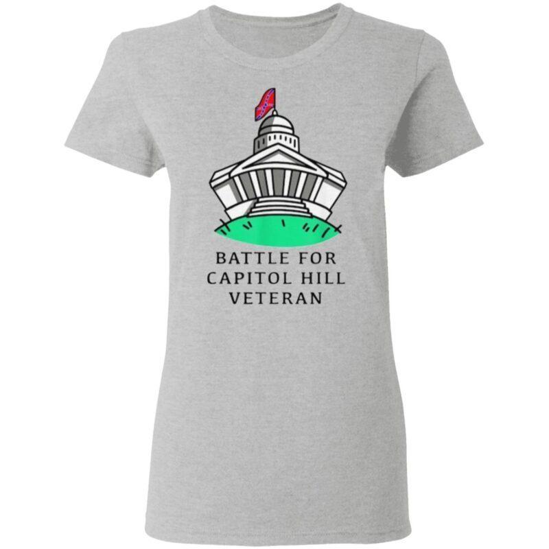 Battle for capitol hill veteran t shirt