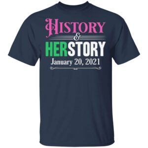 History Herstory Inauguration Day 2021 T-Shirt