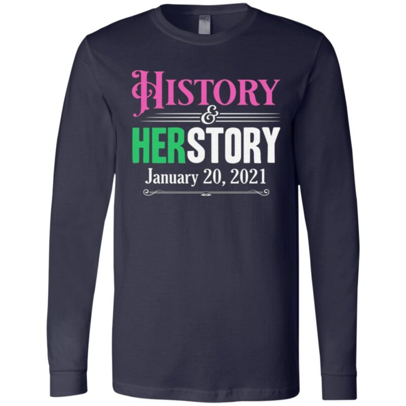 History Herstory Inauguration Day 2021 T-Shirt