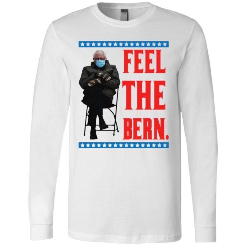 Bernie Sanders Meme Feel the Bern T-Shirt