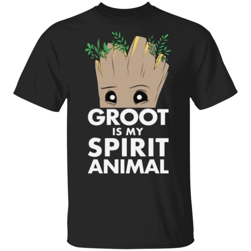 Marvel Guardians Of The Galaxy Groot Is My Spirit Animal T Shirt