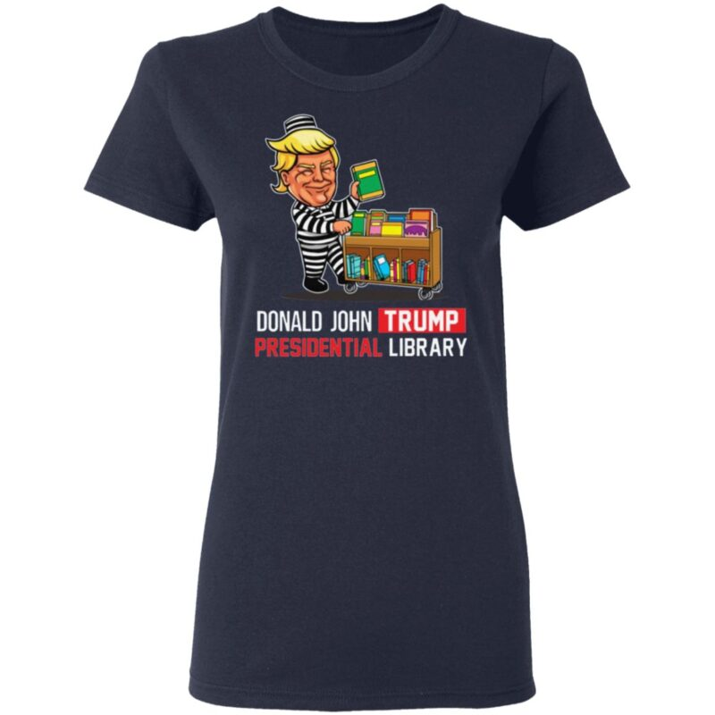 Donald Trump Presidential Library T-Shirt