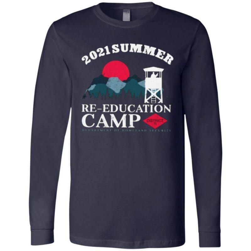 2021 Summer Re-Education Camp T Shirt