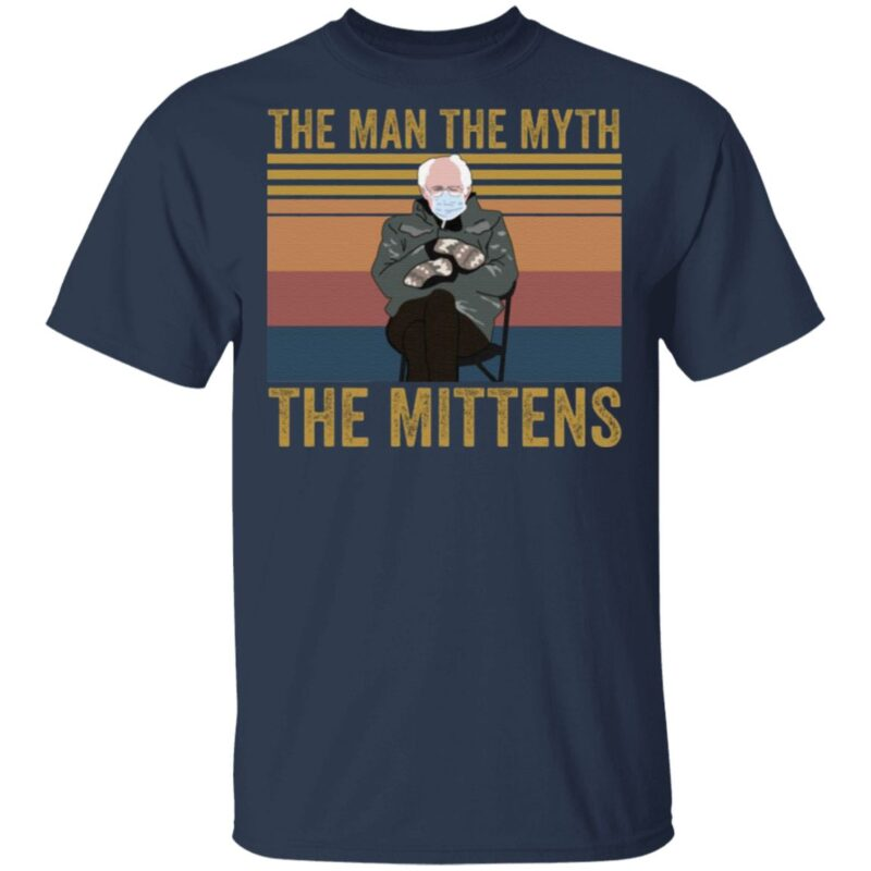 The Man the Myth the Mittens T Shirt