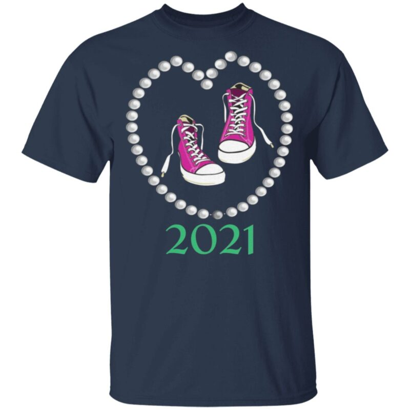 Chucks and Pearls 2021 T-Shirt