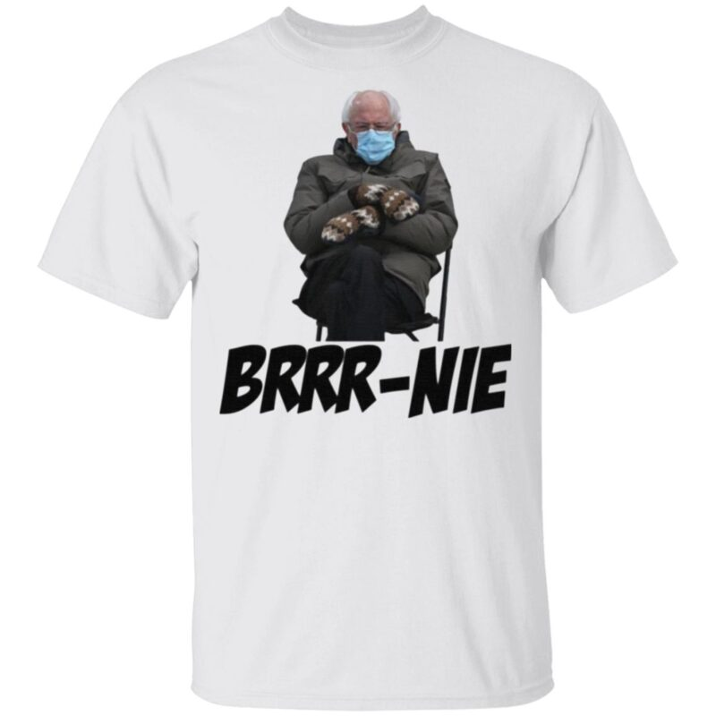 Brrrnie Bernie Mittens Meme Bernie Sanders Cold Inauguration T-Shirt