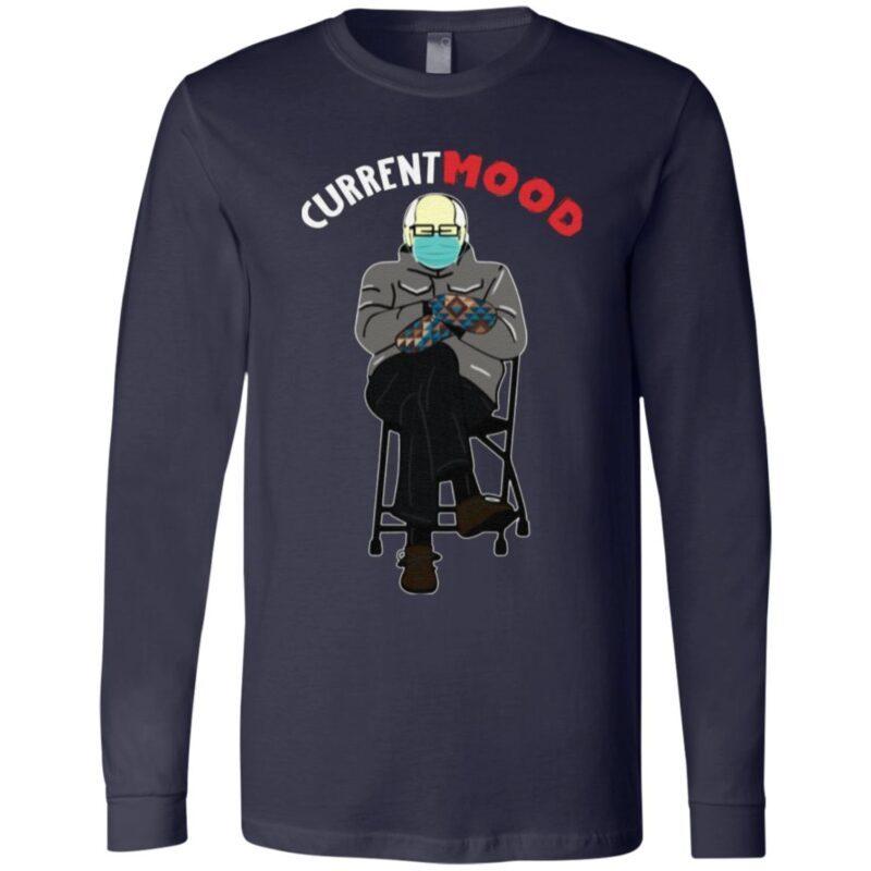 Bernie Sanders in Mittens My Current Mood T Shirt