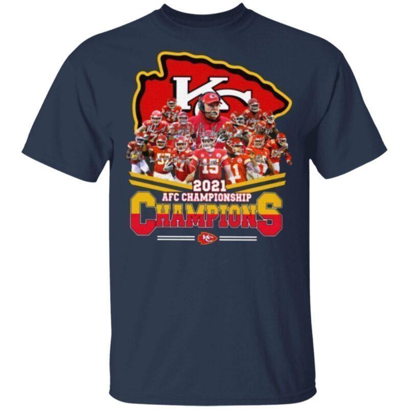 Chiefs AFC Championship 2021 T Shirt