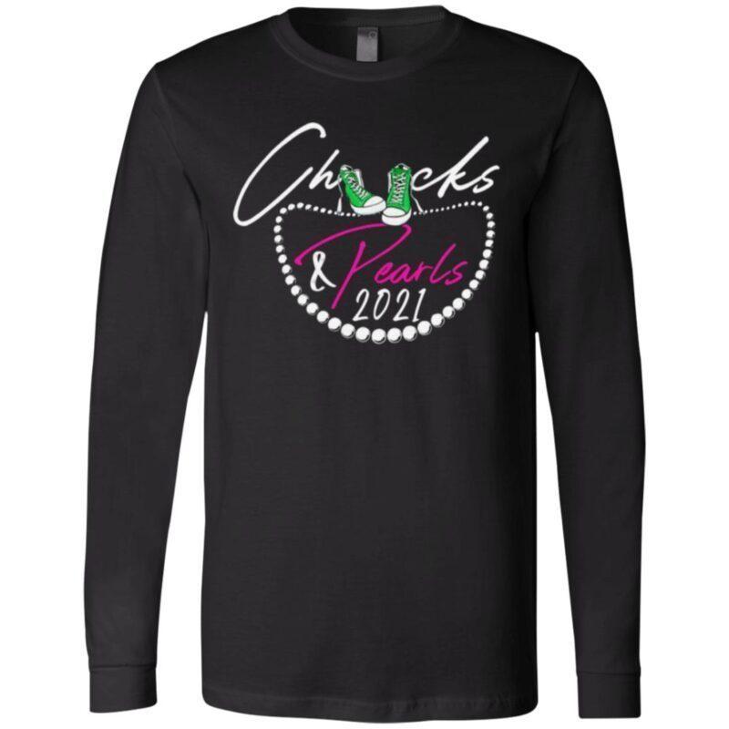 Chucks And Pearls 2021 T-Shirt