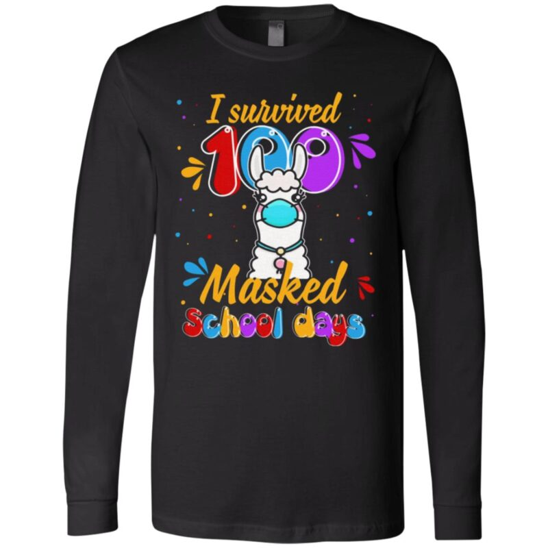 I Survived 100 Masked School Day 2021 Youth T Shirt