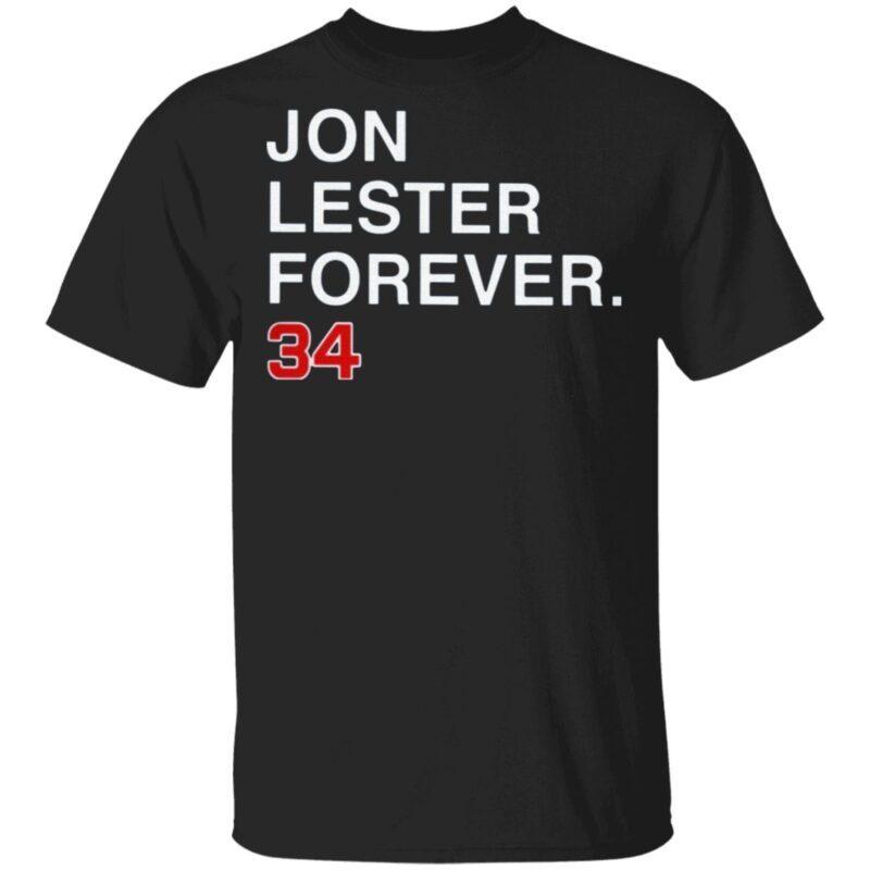 Jon Lester Forever 34 T Shirt