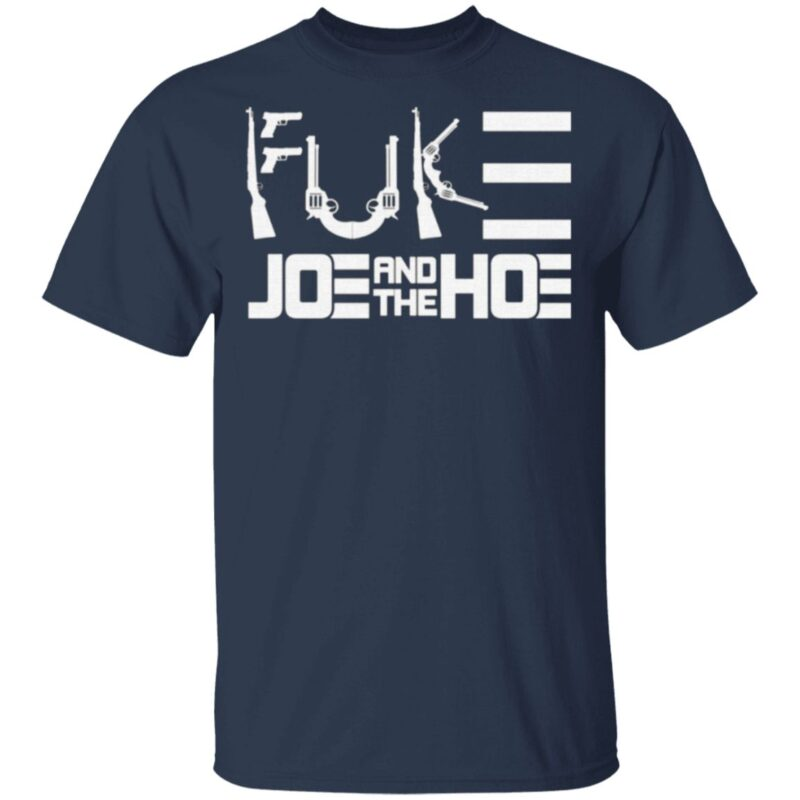 Fuck Biden Political Gun Control T-Shirt