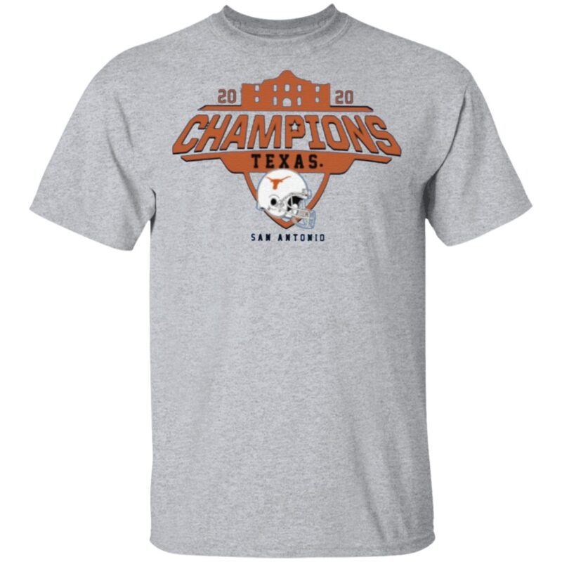 Texas Longhorns 2020 Alamo Bowl Champions T Shirt