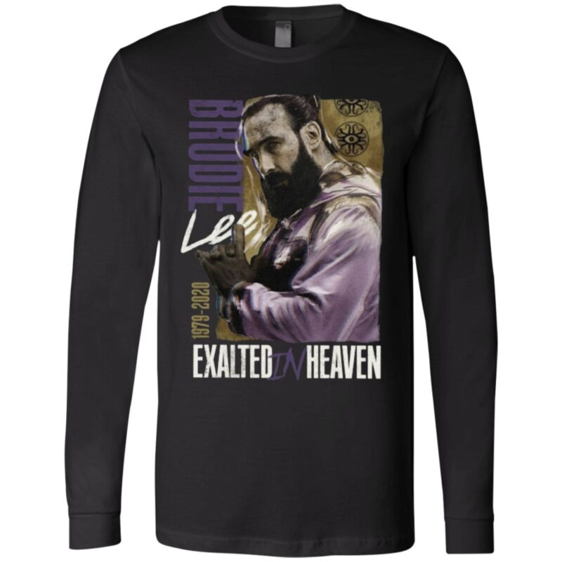 Brodie Lee Exalted In Heaven 1979-2020 T Shirt