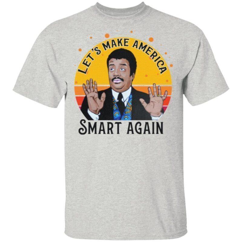 Tyson Let's Make America Smart Again Vintage T Shirt