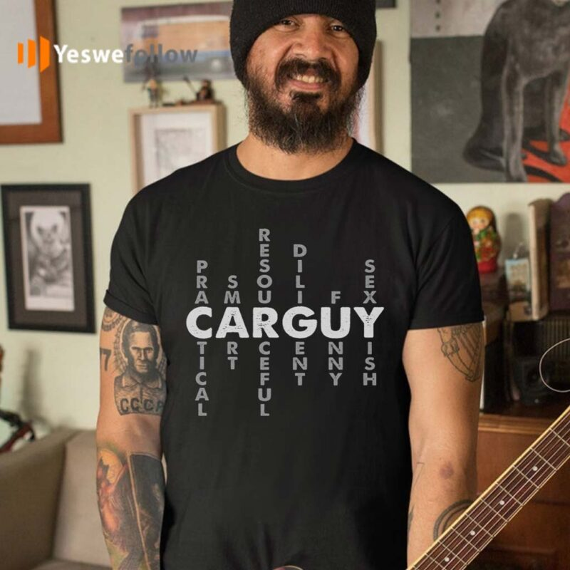 Carguy-Definition-T-Shirts