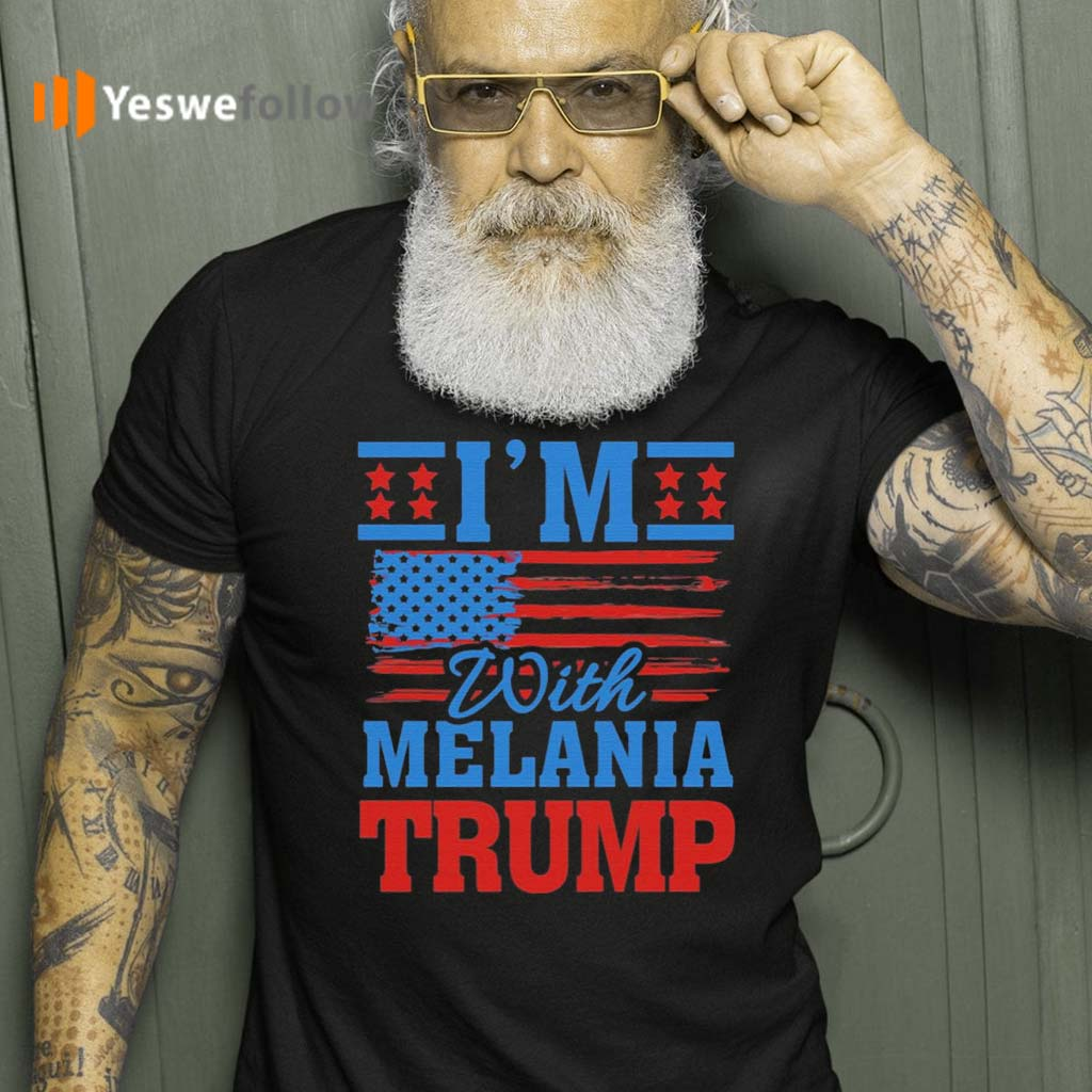 I'm-with-Melania-Trump-Pro-Trump-T-Shirt
