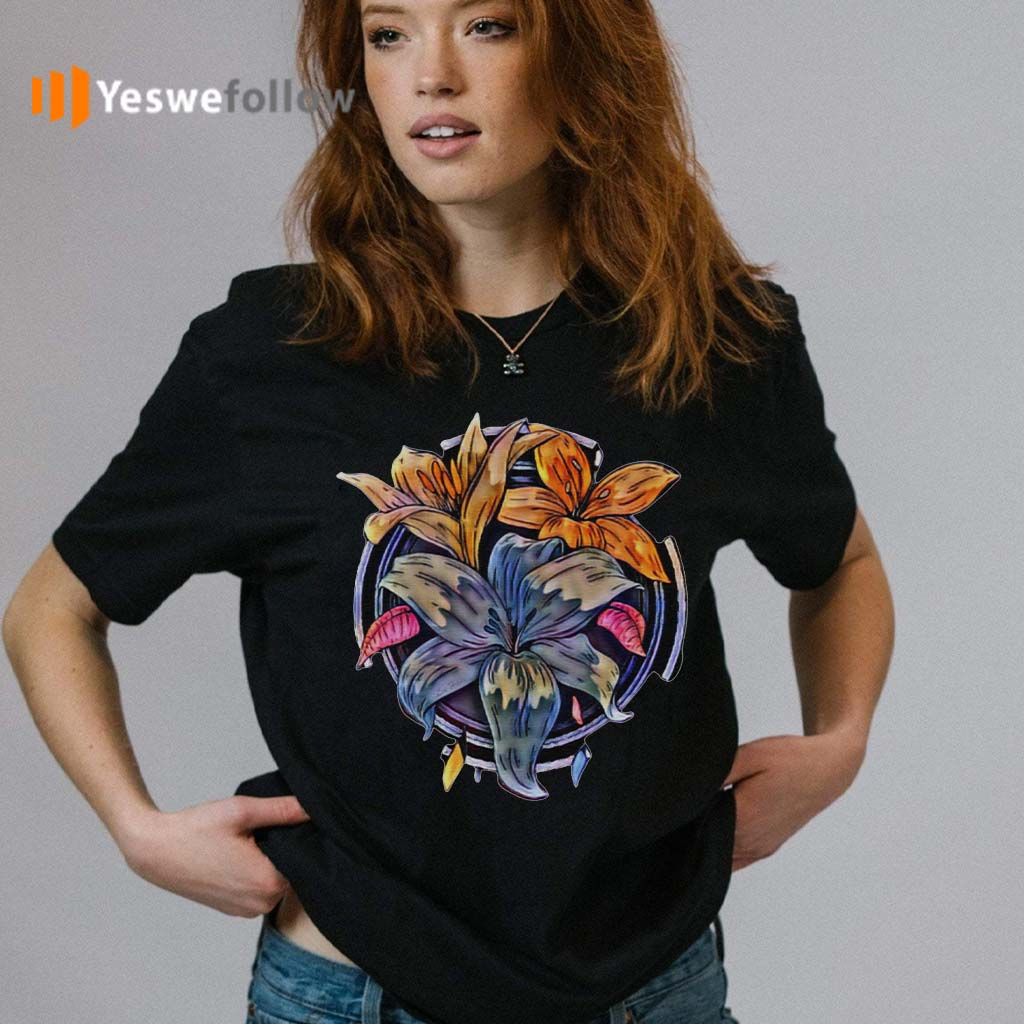 Lily-Flowers-T-Shirt