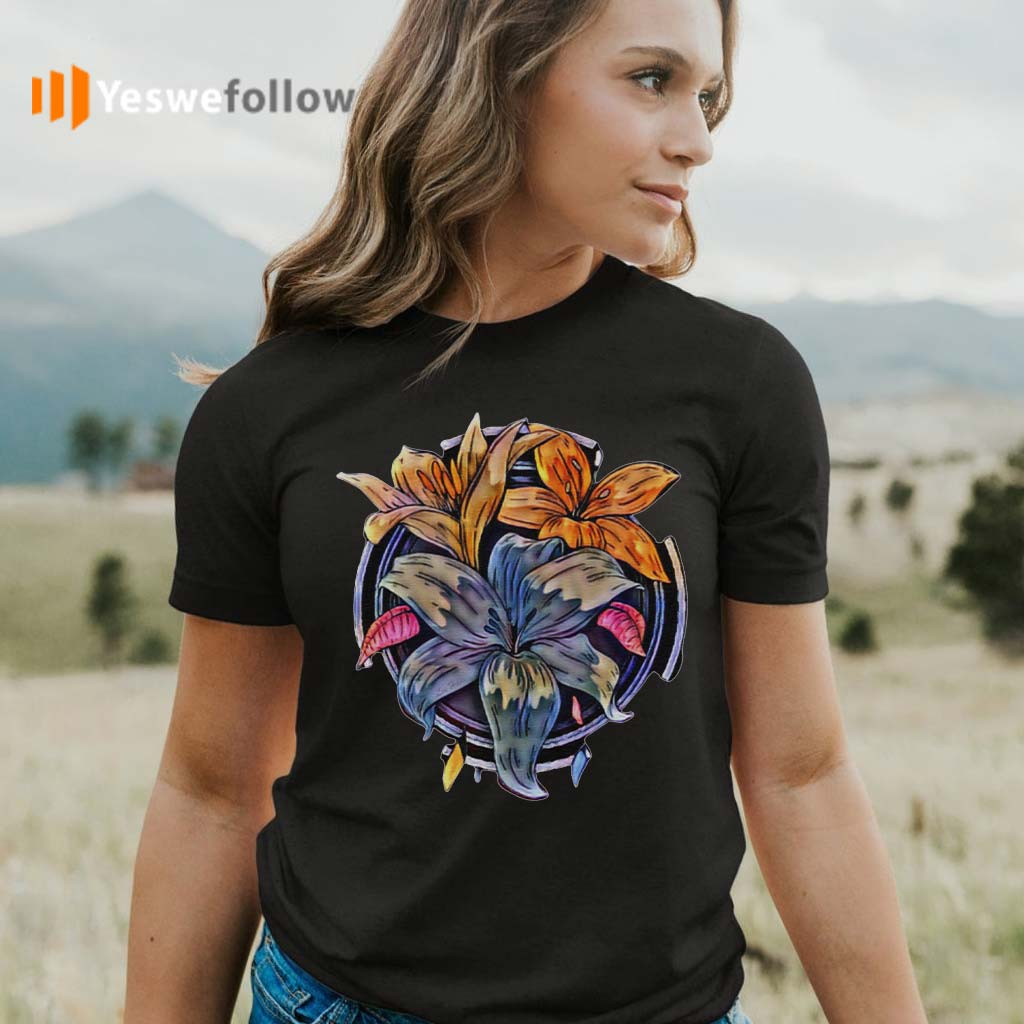 Lily-Flowers-T-Shirts