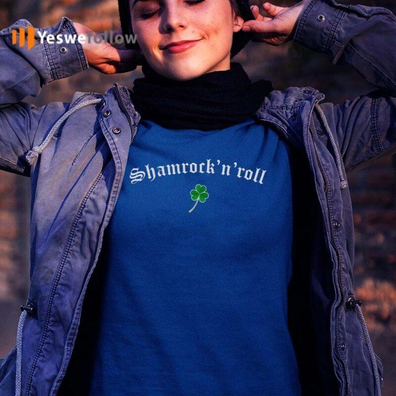 Shamrock-N-Roll-Saint-Patrick's-Day-T-shirt
