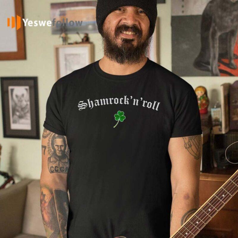 Shamrock-N-Roll-Saint-Patrick's-Day-T-shirts