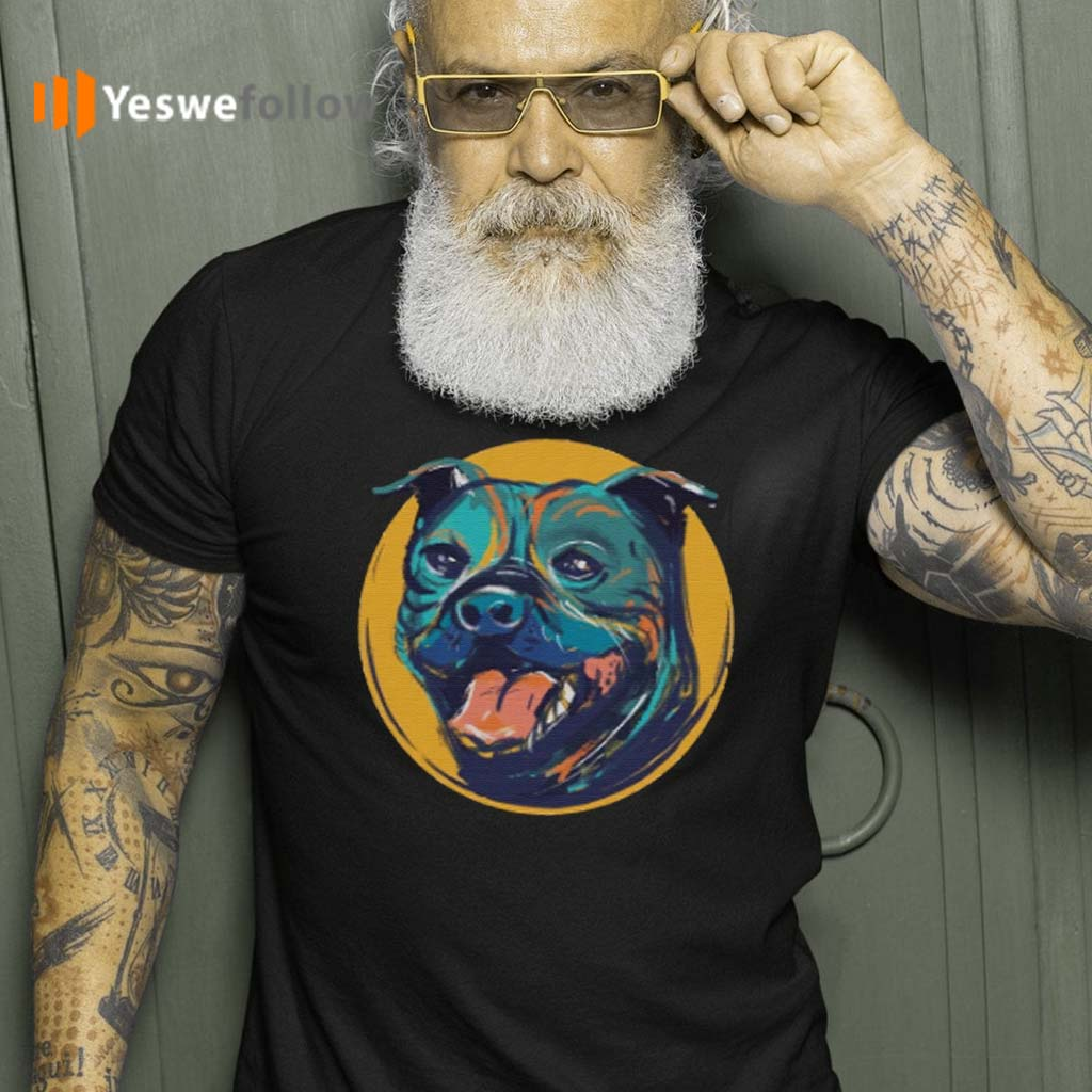 Staffordshire-Bull-Terrier-T-Shirt
