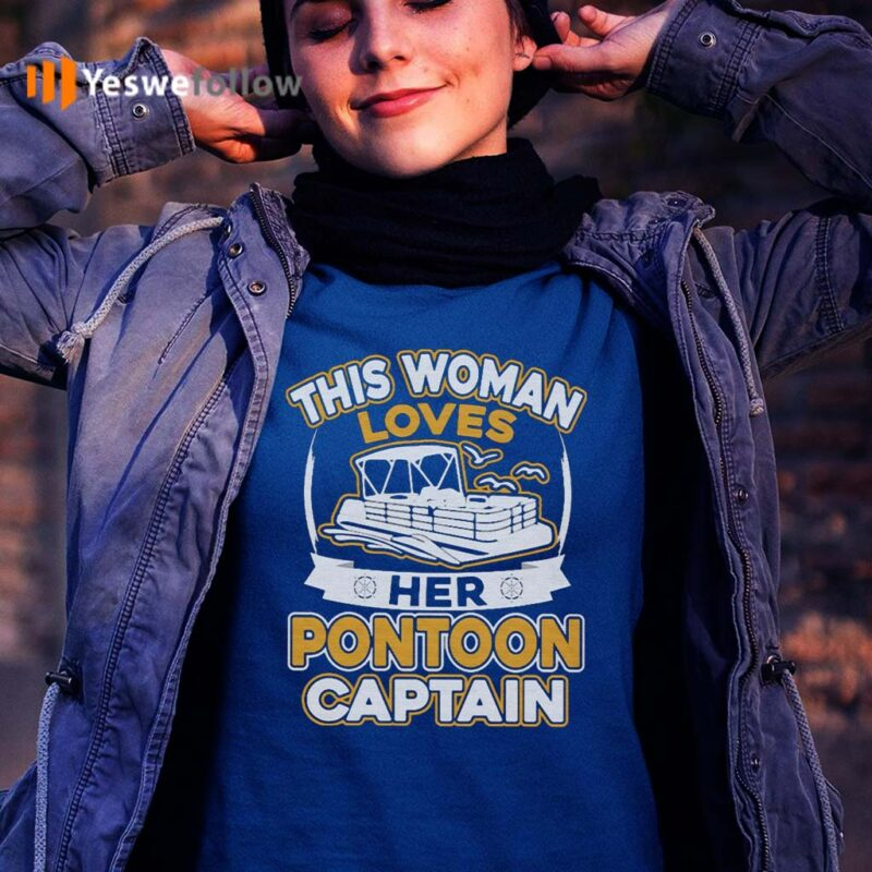 This-Woman-Loves-Pontoon-Captain-T-Shirts