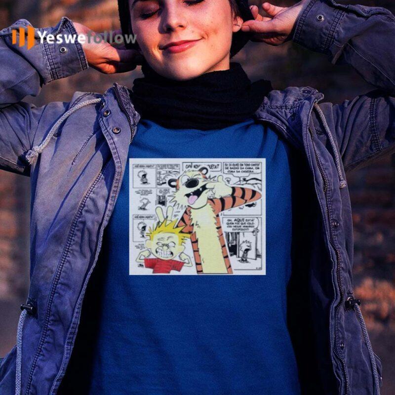 calvin-and-hobbes-bill-watterson-T-Shirts
