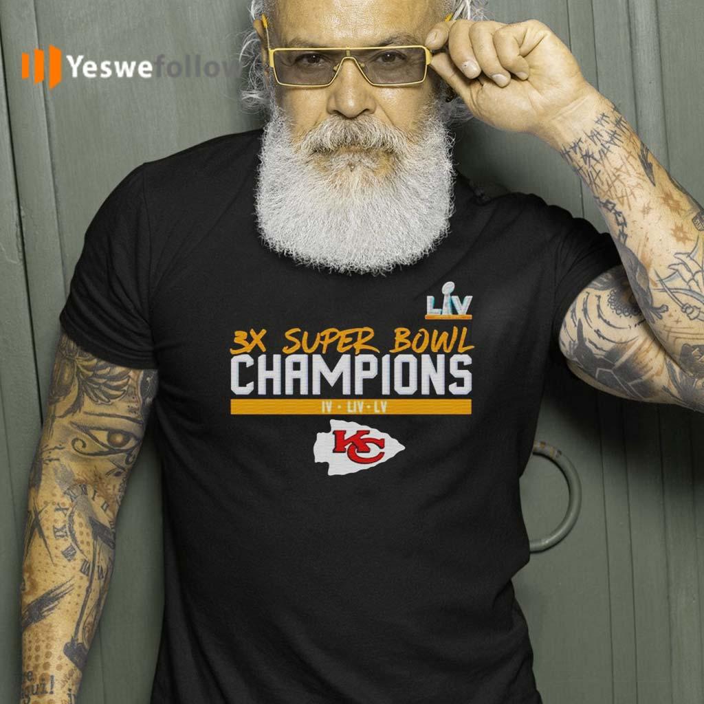 kansas-city-chiefs-3x-super-bowl-champions-Shirts
