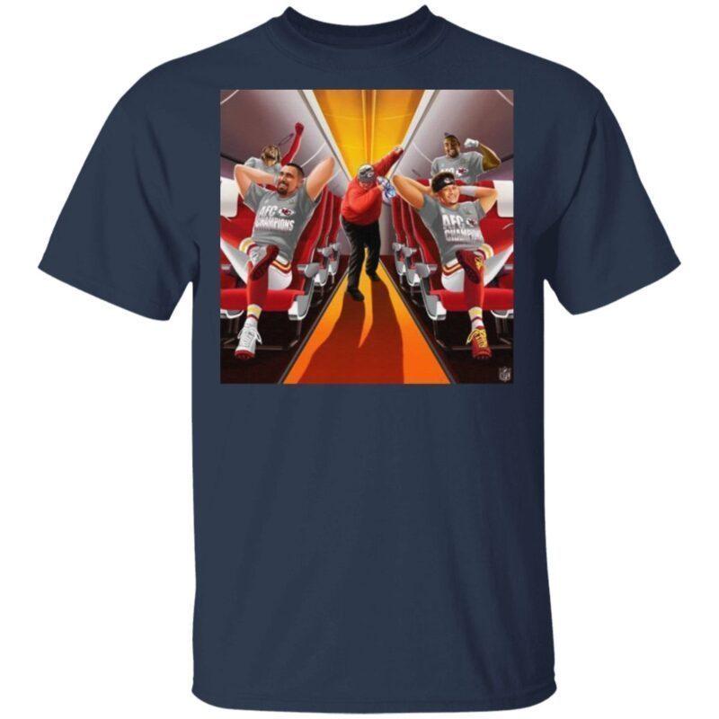 Afc Champions Kansas City Chiefs Super Bowl Lv 2021 t shirt
