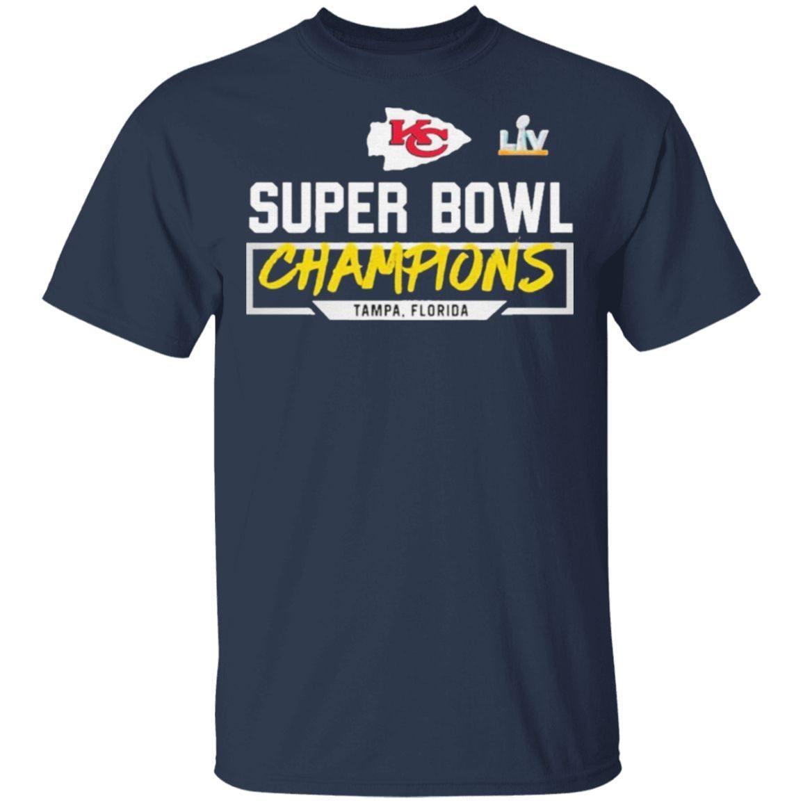 kansas city chiefs super bowl LV 2021 Champions Tampa Florida Shirt