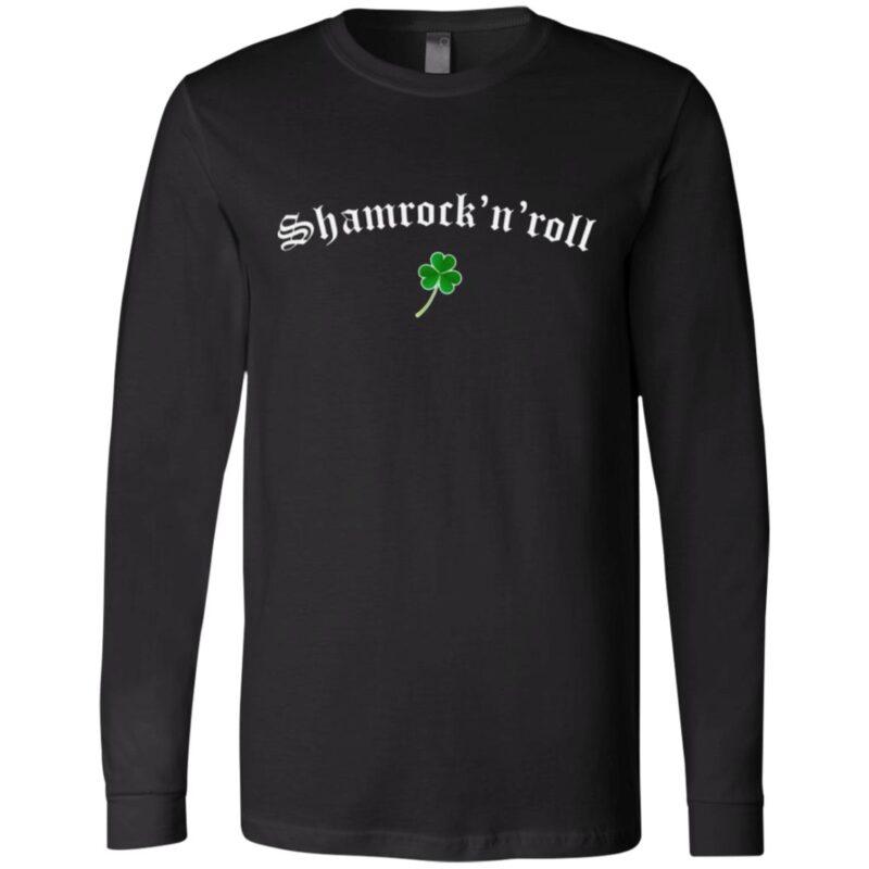 Shamrock N Roll Saint Patrick's Day T-shirt