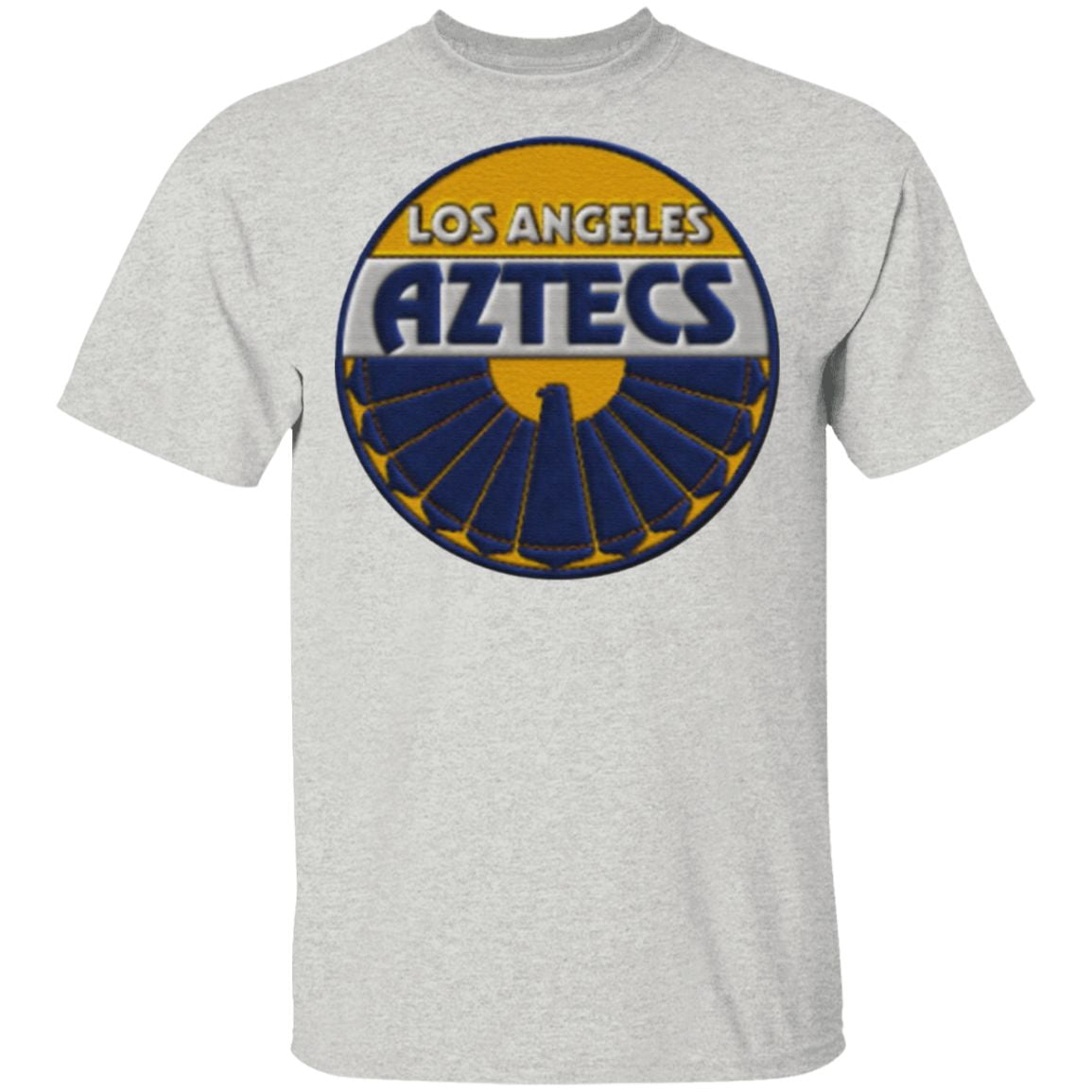 Los Angeles Aztecs Embroidery Patch look T-Shirt