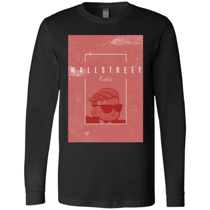Wall Street Bets red T-Shirt