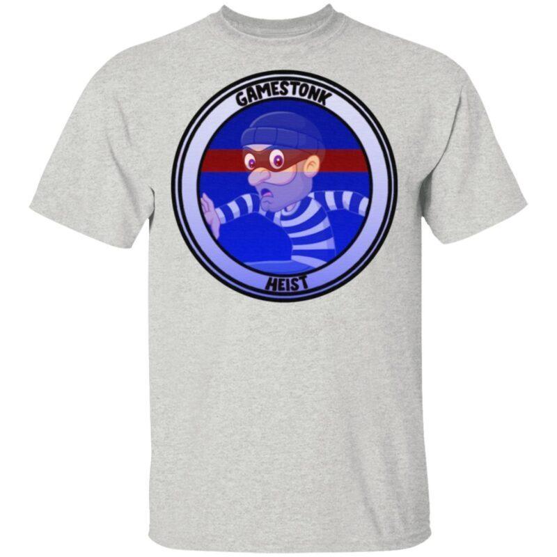 Wallstreetbets GME Gamestonk Heist T-Shirt