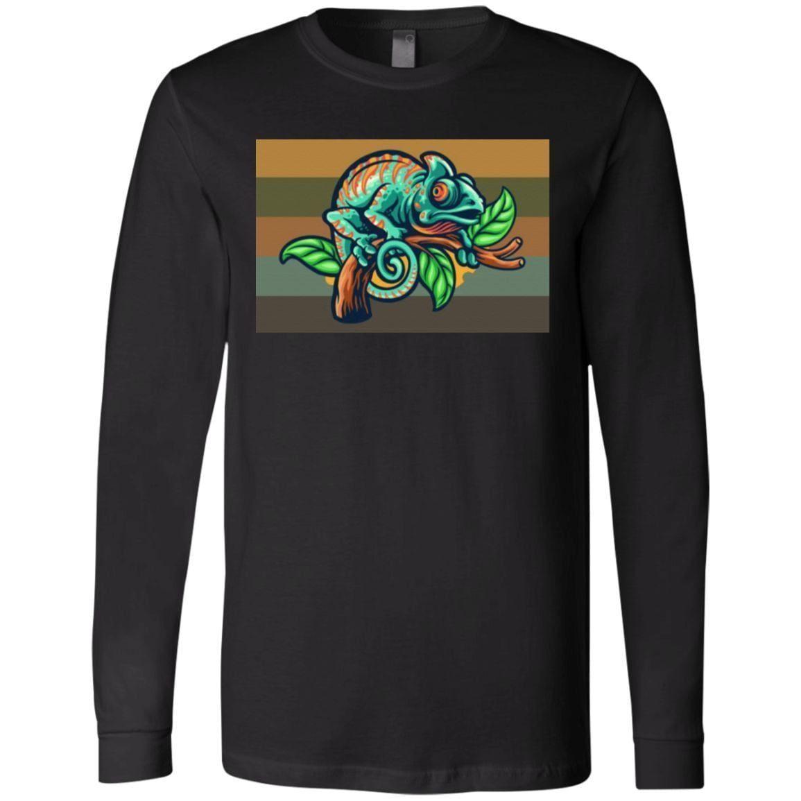 Yellow Retro Chameleon T-Shirt