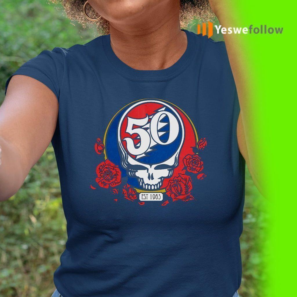 50th grateful band Shirts
