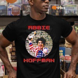 Abbie Hoffman In His American Flag Shirts