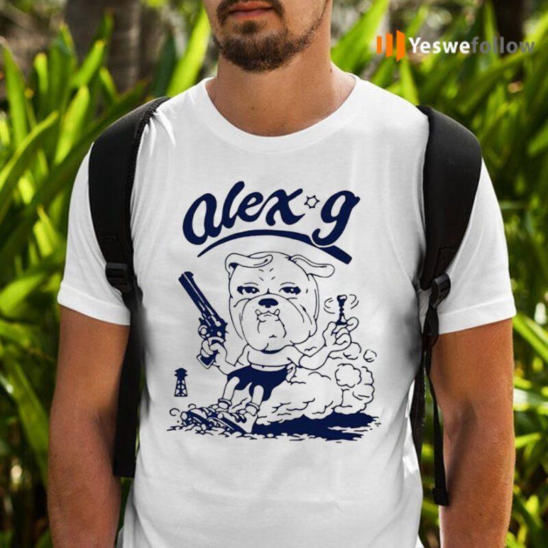 Alex G Merch Revolver Ringer T-shirts