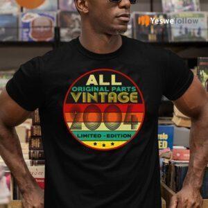 All Original Parts Vintage 2004 Limited Edition TeeShirt