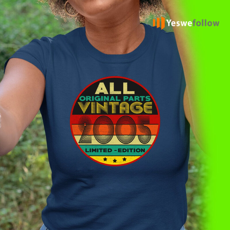All Original Parts Vintage 2005 Limited Edition Shirt