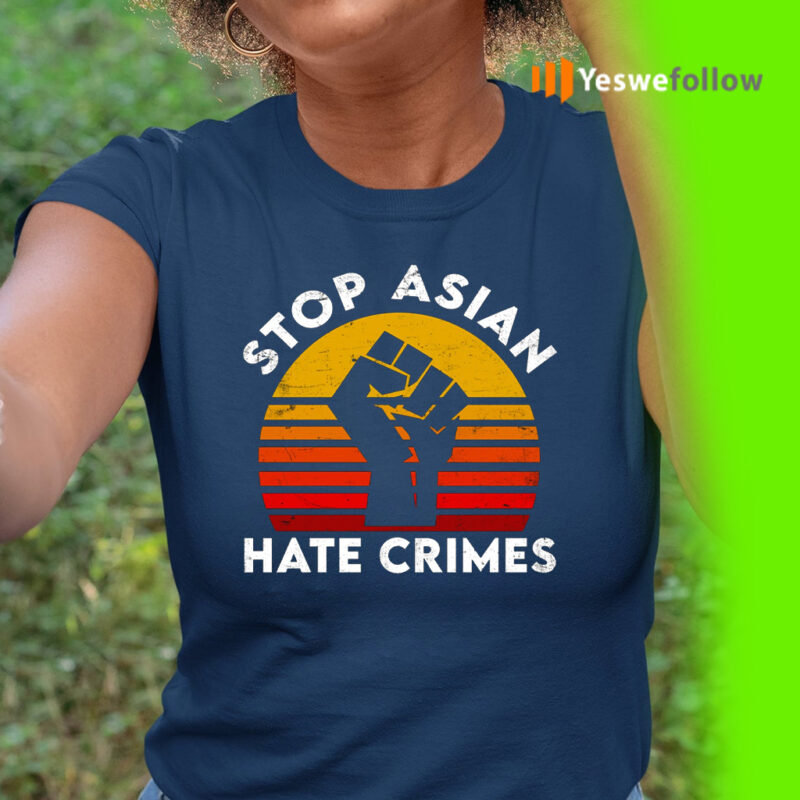 American Stop Asian Hate Crimes T-Shirt