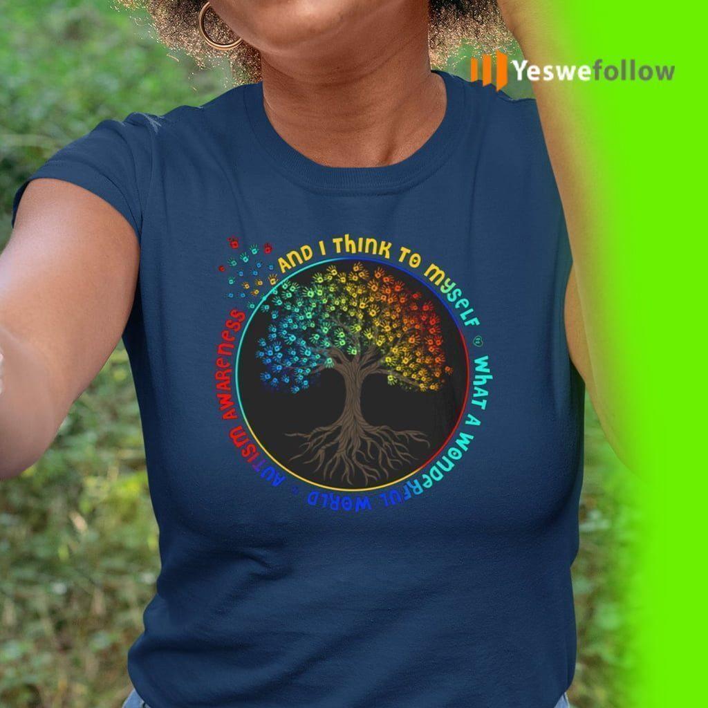 And I Think To Myself What A Wonderful World shirts