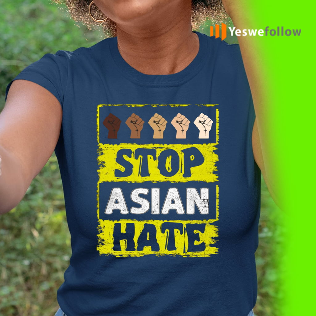 Asian American Support Stop Asian Hate Shirts