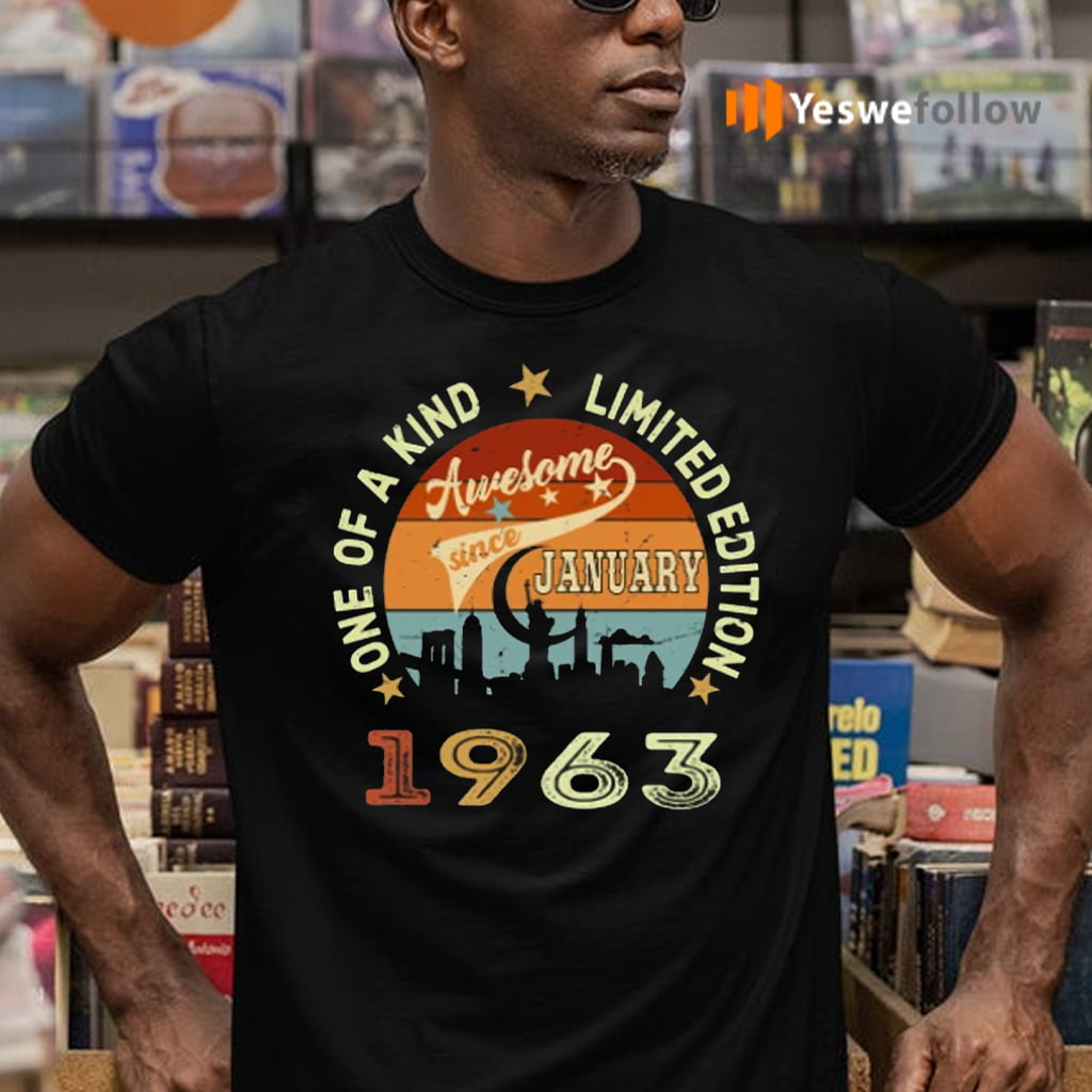Awesome Since January 1963 TeeShirt
