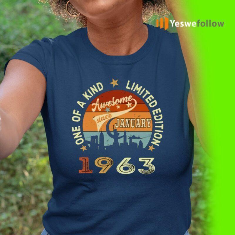 Awesome Since January 1963 TeeShirts